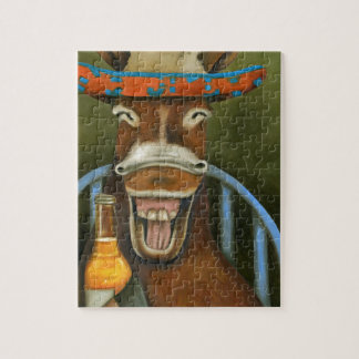 Laughing Donkey Jigsaw Puzzle