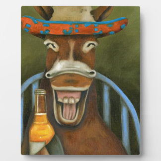 Laughing Donkey Plaque
