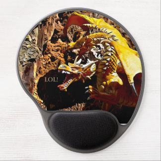 Laughing Dragon Gel Mouse Pad
