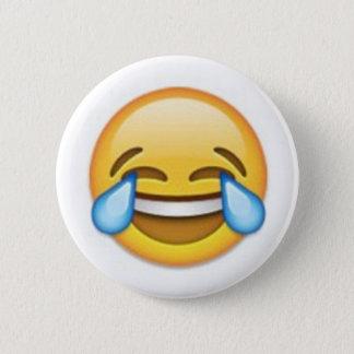 Laughing Emoji 6 Cm Round Badge