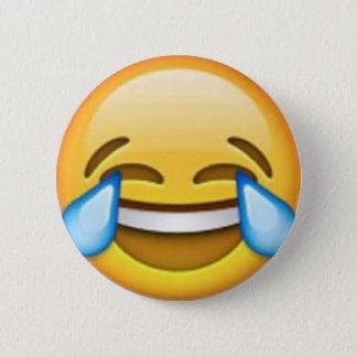 Laughing emoji pin