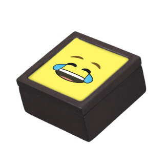 Laughing Emoji Premium Jewelry Box