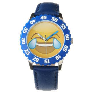 Laughing Emoji Watch