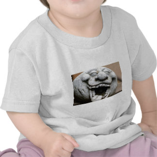 laughing garden gnome of cement shirts