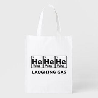 Laughing Gas Reusable Grocery Bag