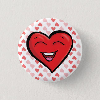 Laughing Heart w/background button