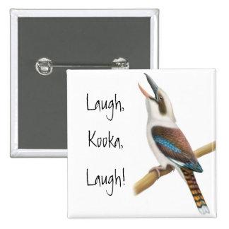 Laughing Kookaburra Pin