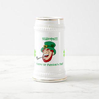 Laughing Leprechaun St Patrick's Day Beer Steins
