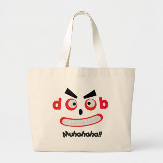 Laughing Monster Jumbo Tote Bag