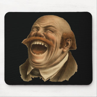 Laughing! Mousepads