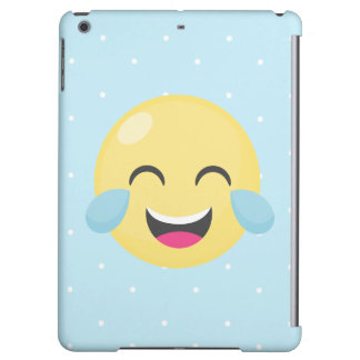 Laughing Out Loud Emoji Dots Case For iPad Air