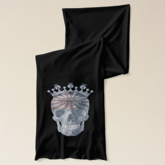 Laughing Skull Crown Anchor Bees High Voltage Scarf