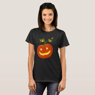 Laughing Spooky Halloween Pumpkin! T-Shirt