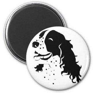 Laughing Springer Spaniel Magnet