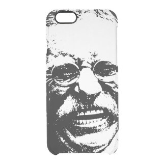 Laughing Teddy Clear iPhone 6/6S Case