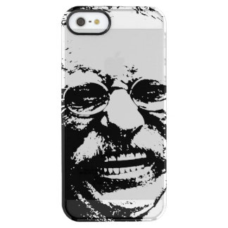 Laughing Teddy Clear iPhone SE/5/5s Case