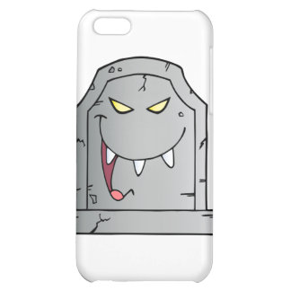 Laughing Tombstone Cartoon Character iPhone 5C Cover