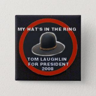 Laughlin for President Button