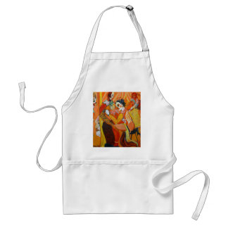 Laughter - Clown Painting Standard Apron