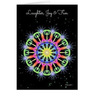 Laughter, Joy & Fun Card