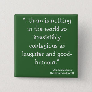 laughter-The Scrooge Collection 15 Cm Square Badge