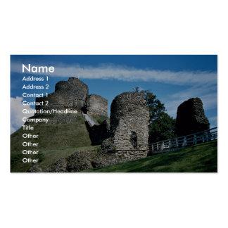 Launceston Castle Business Card