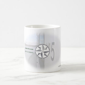 "Launch 5 ""Live the History"" Compass Mug"