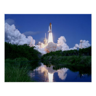 Launch of Space Shuttle Posters