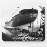 Launching of the Edmund Fitzgerald  6-8-1958 (#1) Mouse Pad