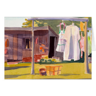 Laundry Day card