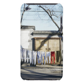 Laundry Drying on Clotheslines iPod Touch Case-Mate Case