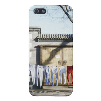 Laundry Drying on Clotheslines iPhone 5 Cases