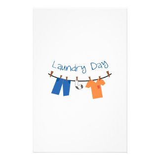 laundry_Laundry Day Stationery