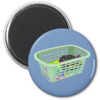 Laundry magnet