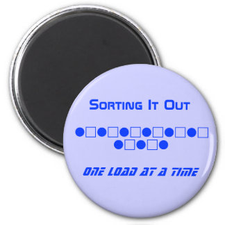 Laundry Magnet - Sorting It Out
