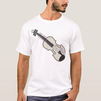 Laundry Mo's Violin White T-shirt