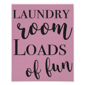 Laundry Room Printable Art Poster