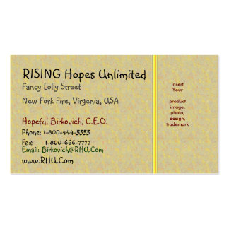 LAURA Gold Sparkle Pattern Business Card