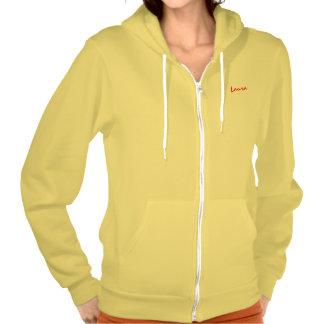 Laura long sleeve yellow t-shirt