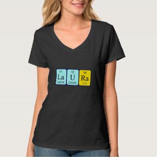 Laura periodic table name shirt