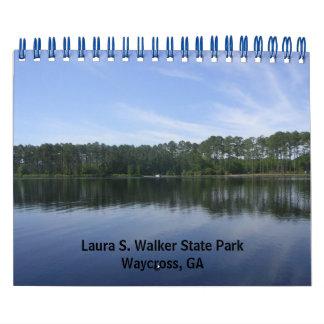 Laura S. Walker State Park Wall Calendar