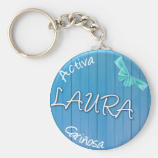 LAURA - Summer Style Key Ring