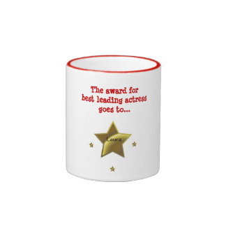 LAURA: The Award For Best Leading Actress Coffee Mugs