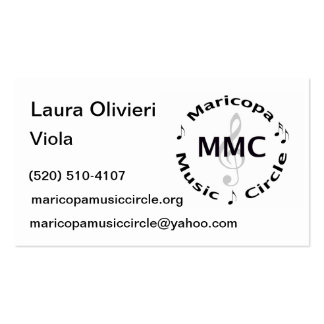 Laura's business cards