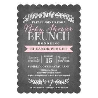 Laurel Brunch | Baby Shower 13 Cm X 18 Cm Invitation Card
