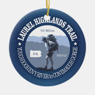 Laurel Highlands Trail Ceramic Ornament