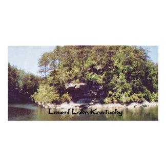 Laurel Lake Kentucky Customized Photo Card