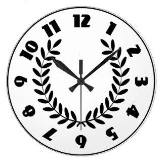 Laurel Wreath Clock