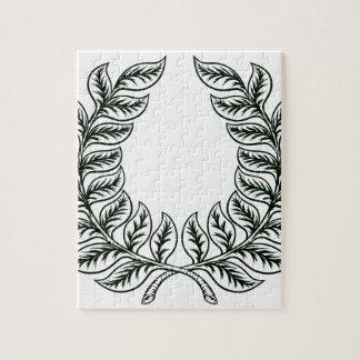 Laurel Wreath Design Jigsaw Puzzle