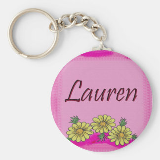 Lauren Daisy Keychain